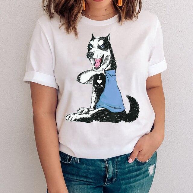 I Love Mom - Women's T-Shirt With Logo  6