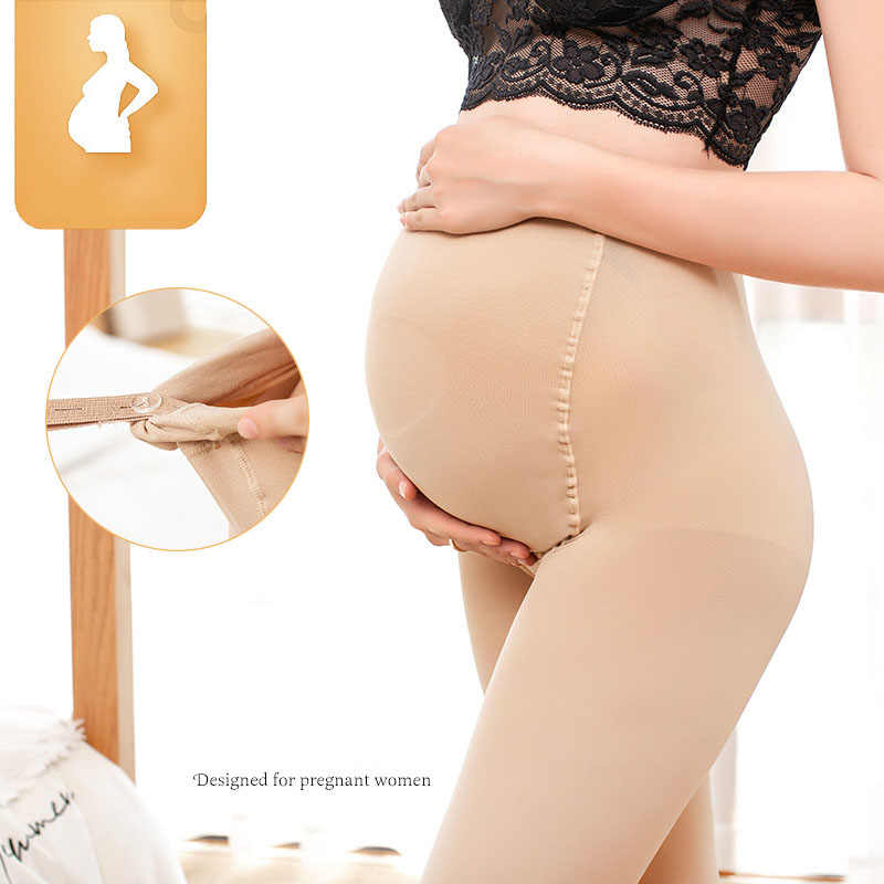 Zwangerschap Kleding Moederschap Leggings Verstelbare Mid Taille Sexy Zwarte Kous Zwangere Zachte Comfortabele Voor Zwangerschap