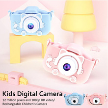 Kids Camera Photo Digital Mini with 600-Mah-Polymer Lithium-Battery-Toys Gift X8 12MP