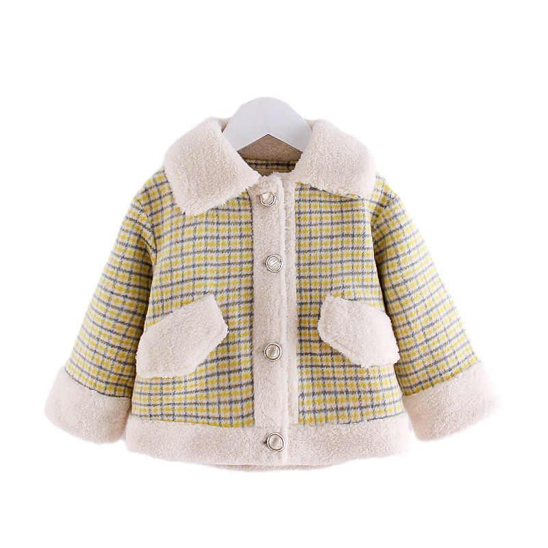 Baby Mädchen Kleinkind Winter Warm Pelzkragen Umhang Mantel Jacke Dick Outwear