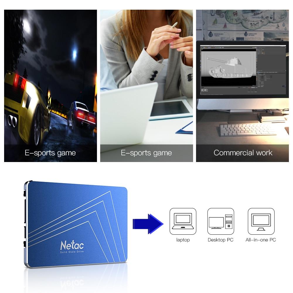 Netac N600S SSD 720GB 1TB 2 5 Inch SATA 3 HD SSD Hard Disk 720 GB
