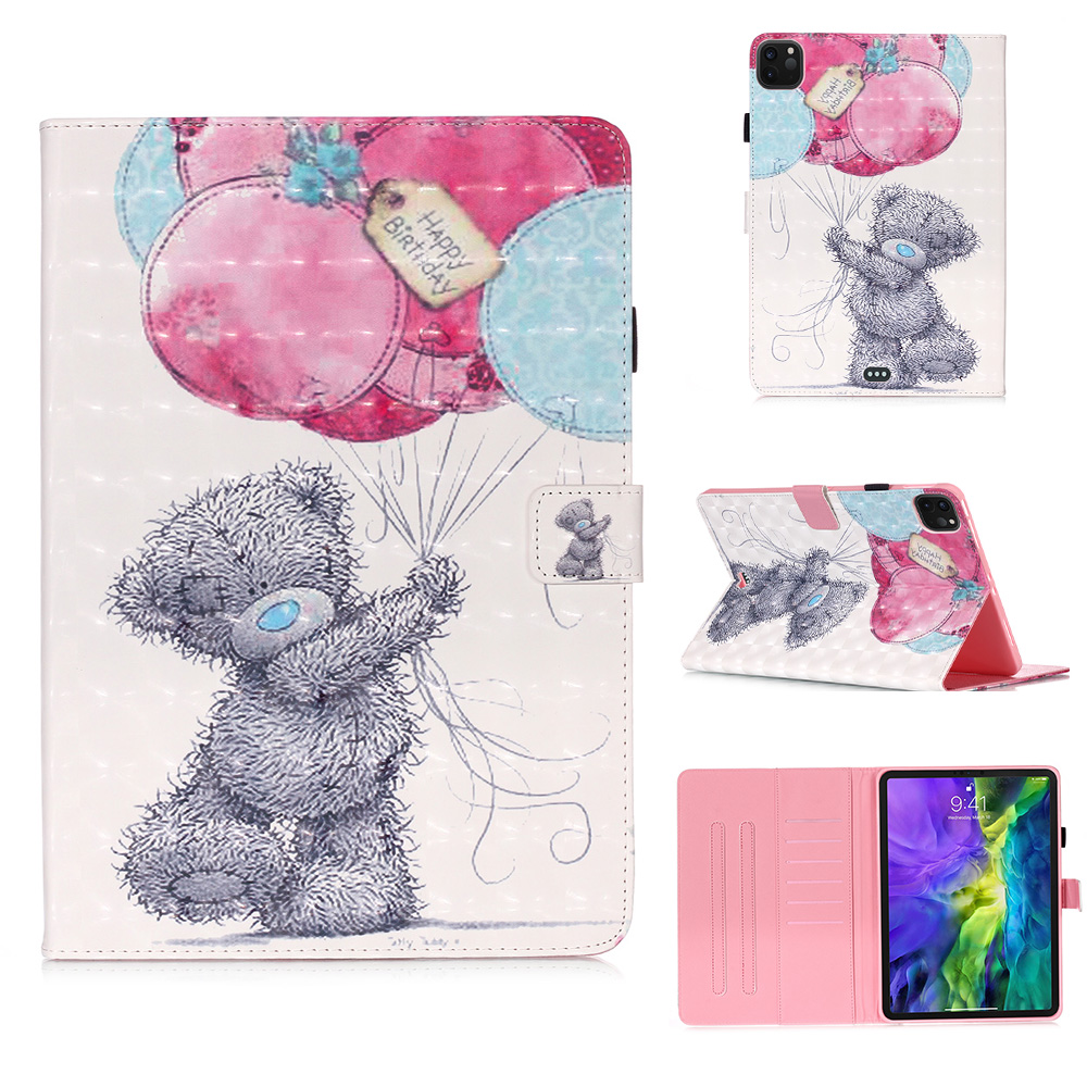 Stand Fashion Case for PU Cover Leather Painted 2020 IPad for Case 11 Case Pro IPad 2018