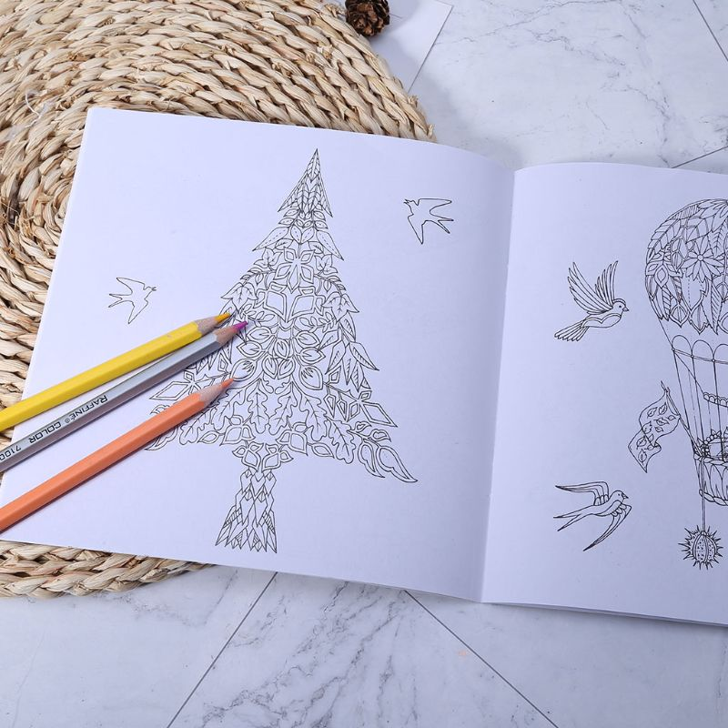 New An Inky Treasure Hunt And Coloring Book By Johanna Basford LX9A