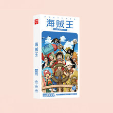 1660pcs/Box One Piece Postcards Anime Post Card Message Gift