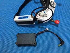 Image 3 - Чехол для литий ионной батареи 7,4 В 18650 DC5.5 * 2,5 для FATSHARK FPV Goggles, видео гарнитура без батареи RC Drone