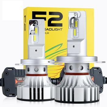 HAOSJ F2 Car LED Headlight H7 LED H4 H11 LED Car Bulb 72W 12000LM 6000k HB4 LED H3 H1 Canbus
