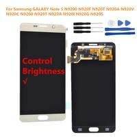 For Samsung GALAXY Note 5 N9200 N920F N920T N920A N920V N920C N9200 N920T N920A N920I N920G N920S LCD Display Touch Screen
