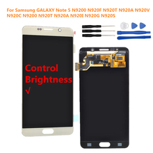 For Samsung GALAXY Note 5 N9200 N920F N920T N920A N920V N920C N9200 N920T N920A N920I N920G N920S LCD Display Touch Screen
