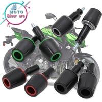 motorcycle Accessories Left and Right Protector Sliders Anti CNC For KAWASAKI Z800 Z1000 Z1000SX Z750 Z900 Z900RS Z250 Z300