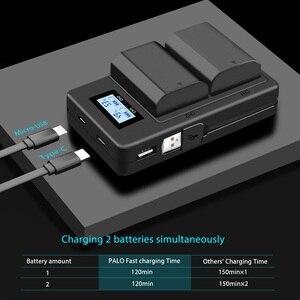 Image 4 - פאלו NP FZ100 NP FZ100 LCD כפול USB סוללה מטען עבור Sony NP FZ100, BC QZ1 אלפא 9, A9, אלפא 9R, Sony A9R Sony Alpha 9S