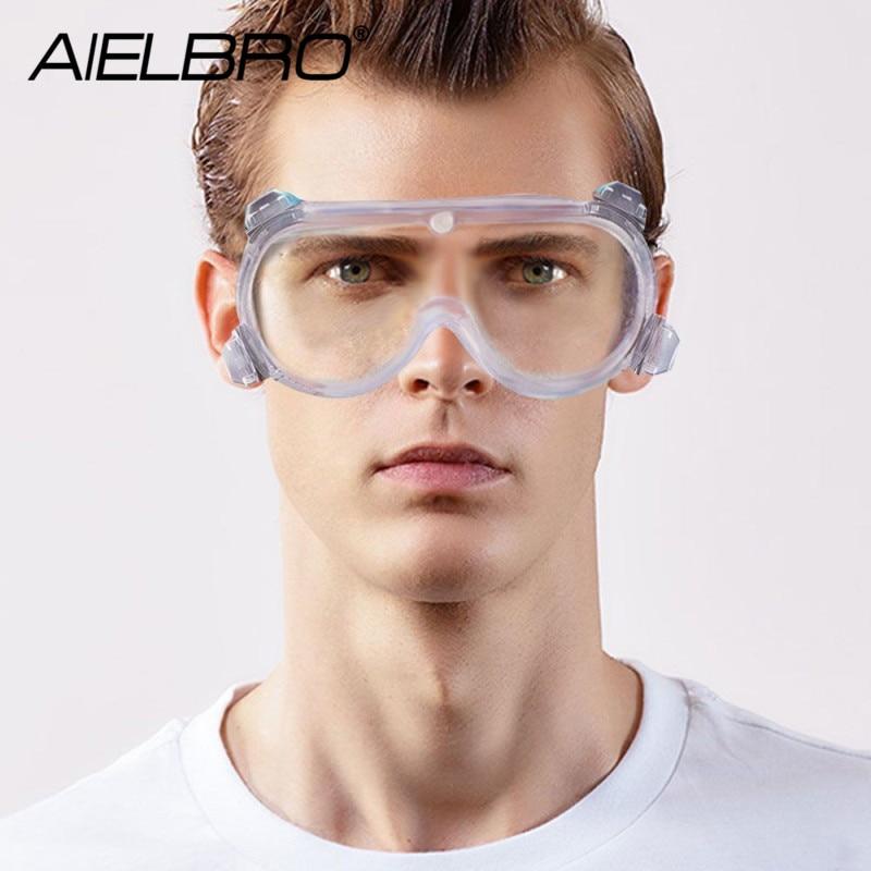 Ski Safety Goggles Windproof Dustproof Anti-fog With Adjustable Elastic Head Band Road Racing Eyewear For Outdoor Climbing