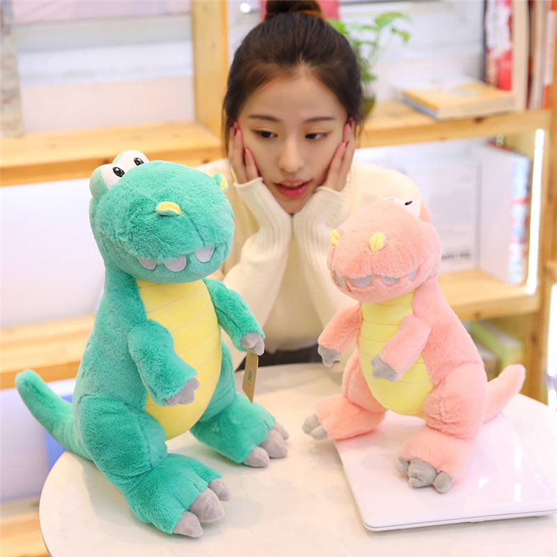 2019 New Style Creative Large Size Xiaoqiang Dinosaur Doll Stuffed Toy Dinosaur Pillow Children's Day Gift thumbnail