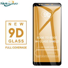 1000 Pieces Full Coverage 9D Tempered Glass For Samsung Galaxy A6 2018 A8 Plus A3 A5 A7 2017 2016 A320 A520 A720 A310 A510 A710(China)