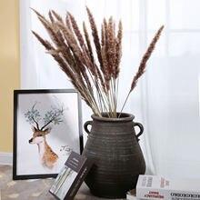 30Pcs Artificial Flowers Natural Pampas Grass Artificial plants for flowers home decoration Real Plants Decor Wedding Decoration