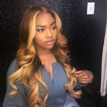 Magic Love Lace Front Human Hair Wigs Pre Plucked With Baby Hair Brazilian Wave Lace Front Wig For Black Women