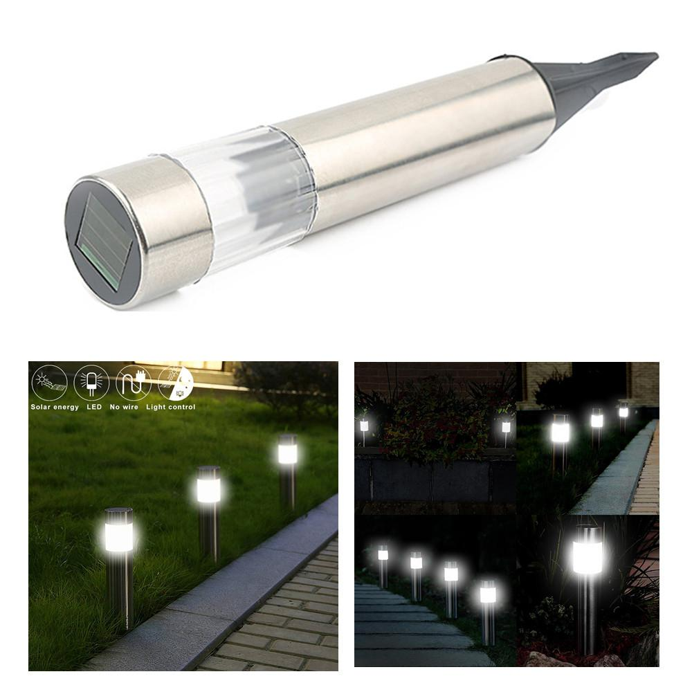Stainless Steel Solar Ed Led Lawn