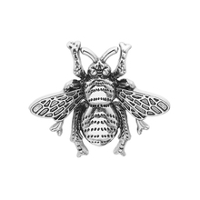 Vintage Cute Bees Brooch Pins Gold & Silver Insect Brooches For Men Women Deer Antlers Head Pin Fashion Jewelry недорого