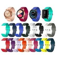 Deporte de banda de silicona de la correa de reloj para Apple Serie 6 5 4 3 2 1 SE 44mm 40mm 42mm 38mm Samsung Huawei Amazfit, 20mm, 22mm