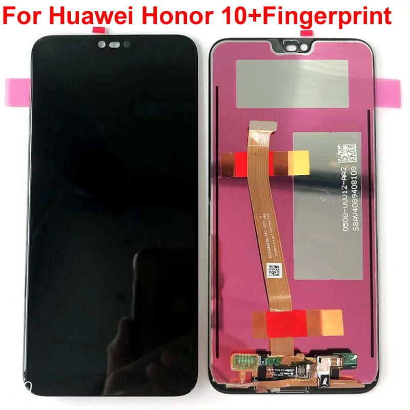 H2102c930cd9d452bae72f4afcbabc412D 100% Original Tested New For 5.84' Huawei Honor 10 COL-L29 LCD Display +Touch Screen Digitizer Assembly Replacement +fingerprint
