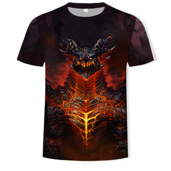 New features in 2020! 3D printed T-shirts for men and women Dragons Fun casual Cool boys
