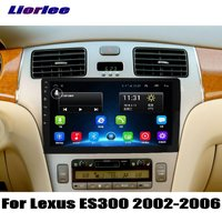 Liorlee For Lexus ES300 2002 2006 For Toyota Windom XV30 Car Radio GPS Navigation Android System HD 9 Screen Multimedia
