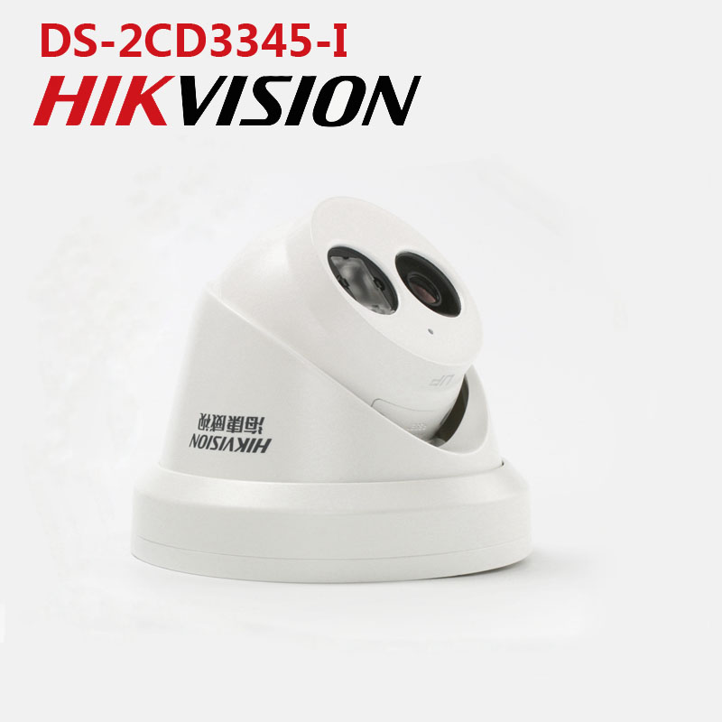 security cameras Hikvision DS-2CD3345-I H.265 4MP POE IP Camera  Support Hik-Connect APP Remote ONVIF IR 30M Outdoor Waterproof