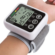 ZOSS latest models Voice broadcast Automatic Wrist Digital Blood Pressure Monitor Tonometer Meter for Measuring and Pulse rate