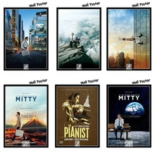 The Secret Life of Walter Mitty Movie Home Decorative Painting White Kraft Paper Poster 42X30cm