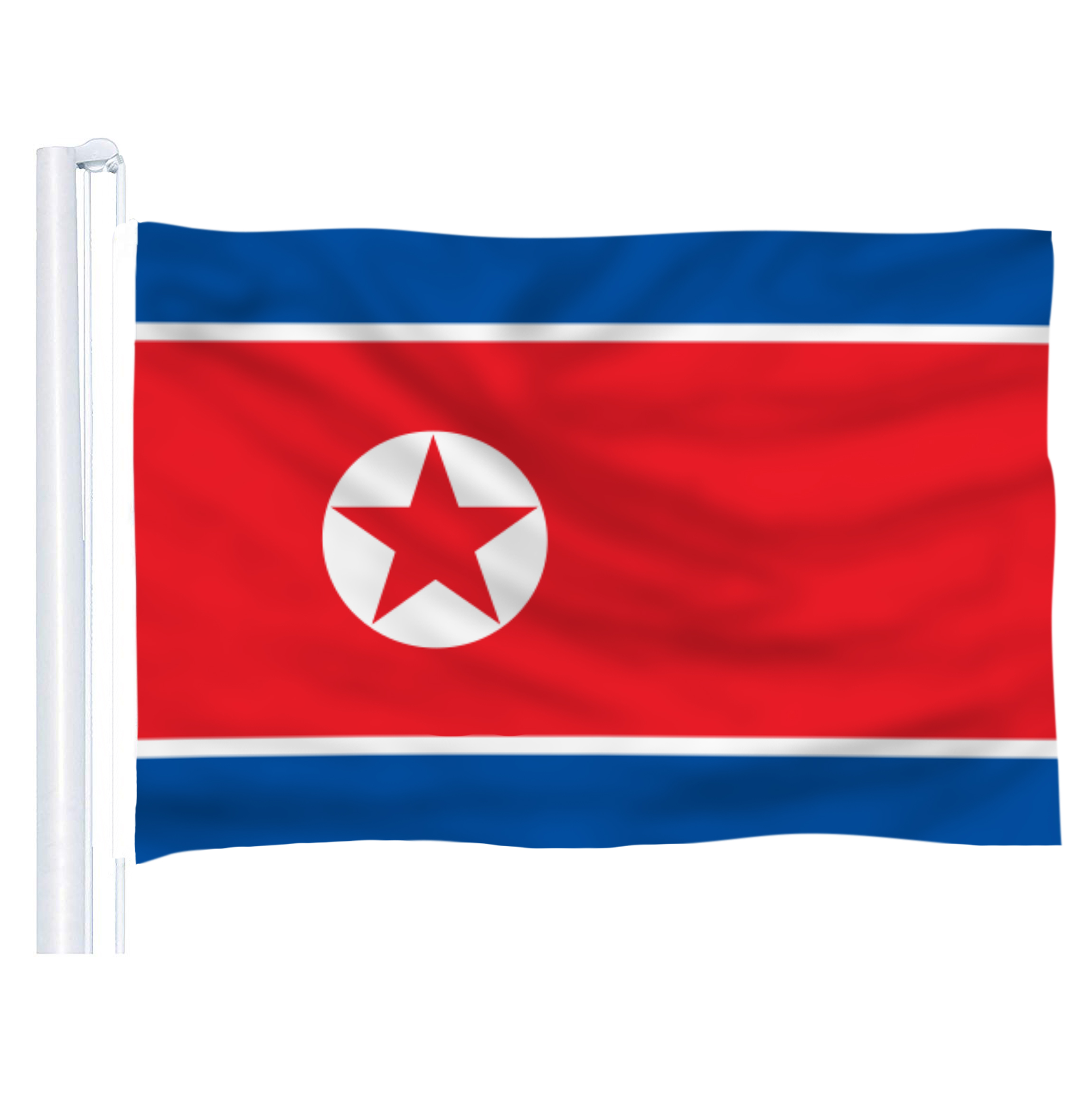 150X90CM North Korea Flag 3x5ft North Korea Country flag National flag image