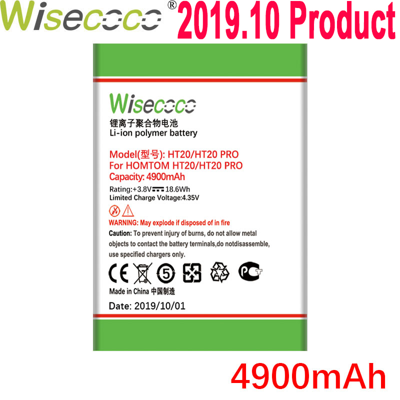 WISECOCO Neue Produzieren <font><b>Batterie</b></font> Für <font><b>Homtom</b></font> <font><b>batterie</b></font> (HT3 <font><b>HT7</b></font> HT16 HT17 HT20) pro Telefon Auf Lager + Tracking nummer image