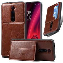 PU Leather Wallet Car magnetic Case For Xiaomi Redmi K20 K20 Pro Note 7 Card Holder Wallet Flip Cover Redmi Note 8 Phone Case стоимость