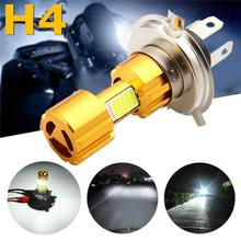 High-Brightness Motorcycle Headlight 1 12v h4 Led Headlight Bulb 18w Cob Motorcycle Exterior Hot Selling