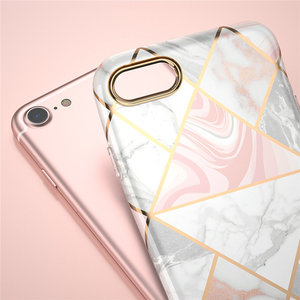 Image 5 - I BLASON For iphone 7 8 Case For iPhone SE 2020 Case Cosmo Lite Stylish Hybrid Premium Protective Slim Bumper Marble Back Cover