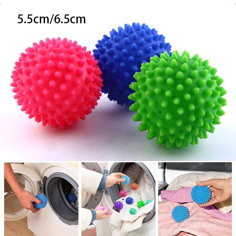 Шарики для чистки ткани, пластиковые шарики для стирки, сушилка для белья, для дома и гостиной, не подвергают химической чистке