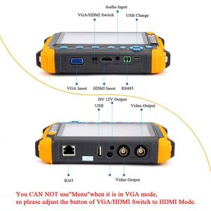 Image 2 - 8MP Cctv Tester Camera Video Tester Ahd Ip Video Camera Tester Mini Ahd Monitor 4 In 1 Met Vga Hdmi input Beveiligingscamera S