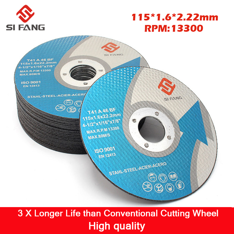 5Pcs-50Pcs 115MM Grinding Wheels For Angle Grinder Cutting Disc Wheel Flap Sanding Grinding Discs Angle Grinder Wheel