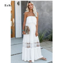 Eyelash Lace Overlay trims Maxi Dress Women Zip Chic Lady Charming Vestidos Ankle-length Party Evening Elegant Woman Streetwear
