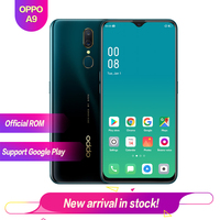 OPPO A9 6.53 ColorOS6 TFT LTPS Full screen Support OTG 6G 128G 1080*2340 1080P 3 cameras Octa Core 4020mAh 16MP+16MP+2MP