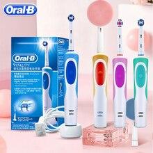 Oral B Bàn Chải Đánh Răng Điện Sạc Sức Sống Bàn Chải Đánh Răng Người Lớn hoặc Thay Thế Răng Đầu Bàn Chải Nhập Khẩu từ Đức