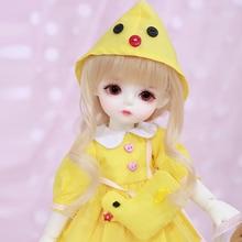 Lcc綿あやねクリーム1/6 bjd sd人形のための誕生日クリスマスベストギフト樹脂おもちゃ子供のためのサプライズギフトのための誕生日