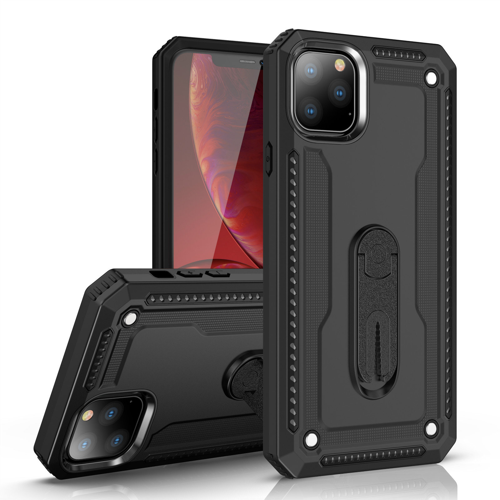 Magnetic Armor Holder <font><b>phone</b></font> <font><b>Case</b></font> for <font><b>OPPO</b></font> F5 Youth A79 A37 Neo 9 A59 F1S F3 A77 <font><b>A71</b></font> A39 A57 F7 A7 A5S A3S A5 F9 Back Cover <font><b>Case</b></font> image