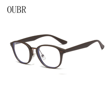 OUBR  simple glasses frame mens anti-Blu-ray brand design ladies lightweight comfortable computer optical