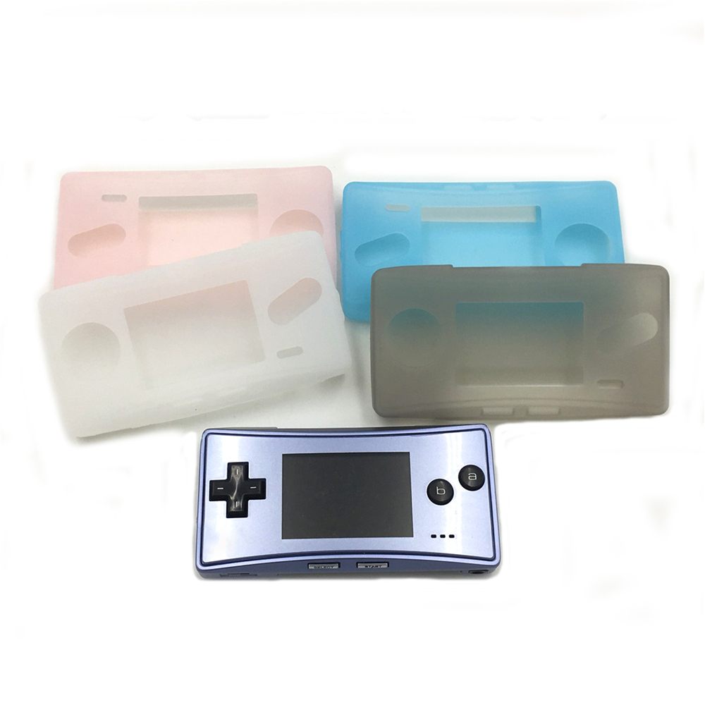 Soft TPU Protective Shell For Nintend <font><b>GBM</b></font> Console Transparent Shell <font><b>Case</b></font> Cover for <font><b>GBM</b></font> Game Controller Scratchproof Skin <font><b>Case</b></font> image