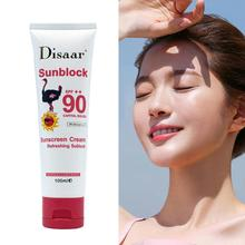 Oil Control Sunscreen Cream Waterproof Sunblock Foundation Spf90++ Whitening Isolation Moisturizing Collection Face Cream 100ml