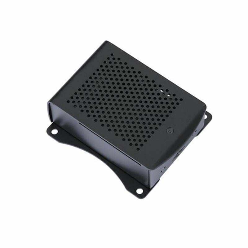 2020 neueste Aluminium Raspberry Pi 4 Fall mit fan Hängen halterung Kompatibel + Kühlkörper für Raspberry Pi 4 Modell B