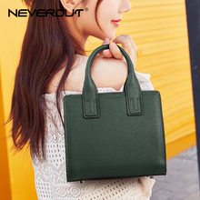 NEVEROUT 2019 New Arrival Women Bag Fashion Tote Split Leather Small Handbags Top-Handle Bags for Lady Solid Shoulder Bags Sac new arrival stylish women split leather bag handbags famous brand fashion boston lady leather tote bags for female ladies