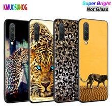 Black Cover Cheetah leopard Jaguar Fashion for Xiaomi Mi A3 A2 A1 5X 6X 6 8 Lite