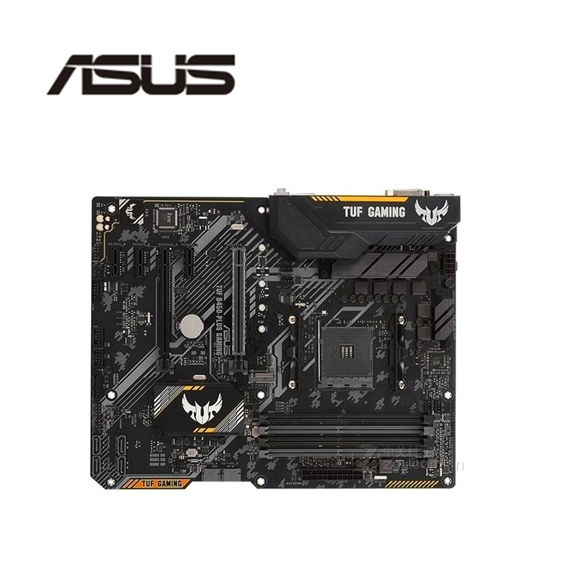 USED GOOD CONDITION ORIGINAL ASUS IO SHIELD FOR ASUS TUF B350M PLUS GAMING