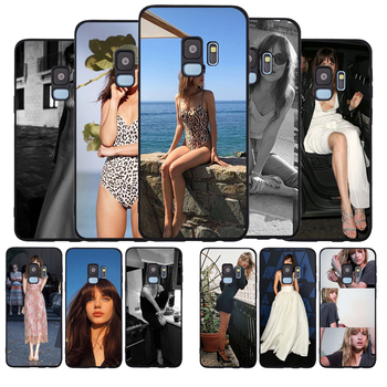 Dakota Johnson black Phone Case For Samsung S7 S7edge S8 S9 S10 S20 PLUS NOTE 8 9 10 A8 A7 A8 A9 2018 S10E S10 LITE image