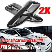 Capó delantero Universal para coche, ventilación para coche, para Jaguar XKR/XK8, BMW F10/F11, W205 W204 Benz, VW Golf MK5 MK6 MK7, Ford ABS